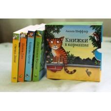 Книжки в кармашке. Комплект из 4-х книг.